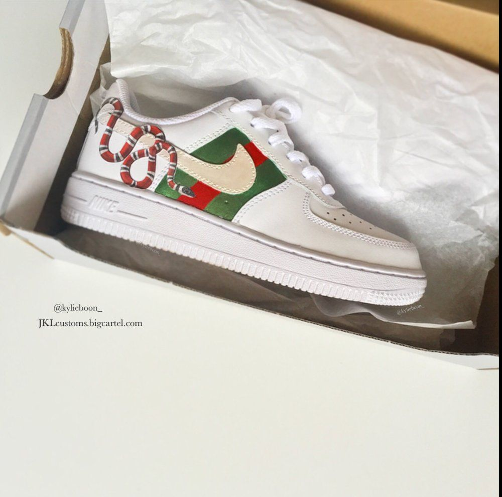 Image of Gucci Air Force One JKLcustoms