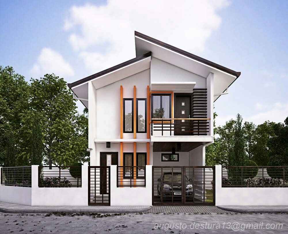 Home Design Ideas Double Storey Houses In 2019 House