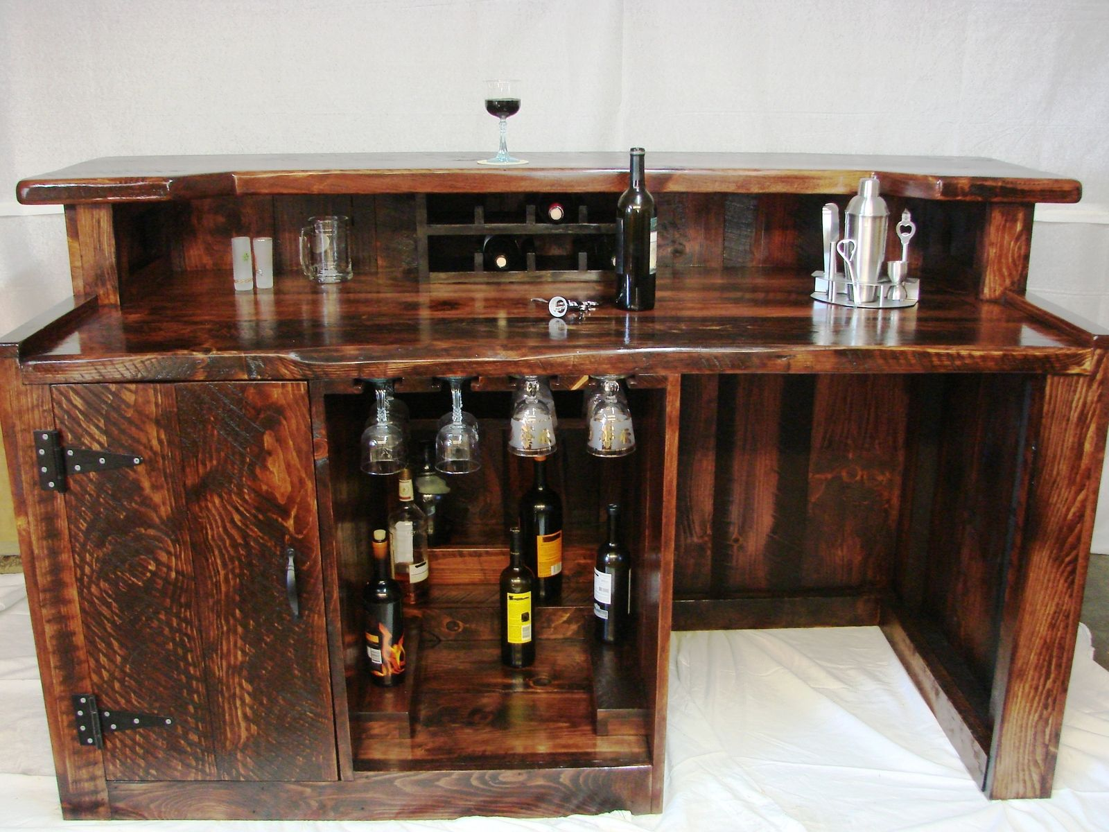Custom Made Mini Bar | For the Home | Pinterest | Headboard ...