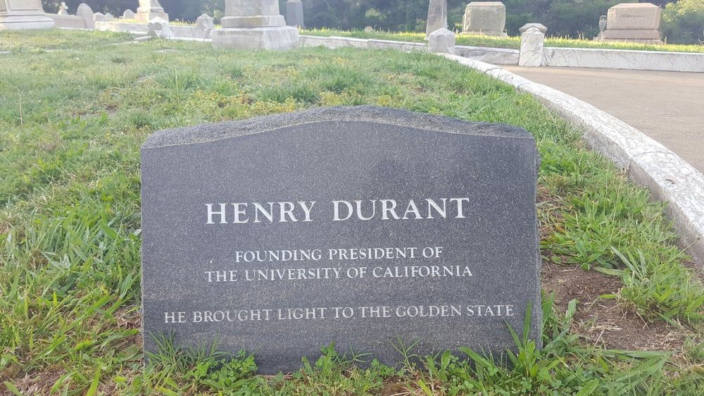 Photo of Mountain View Cemetery - Oakland, CA, United States. Henry Durant