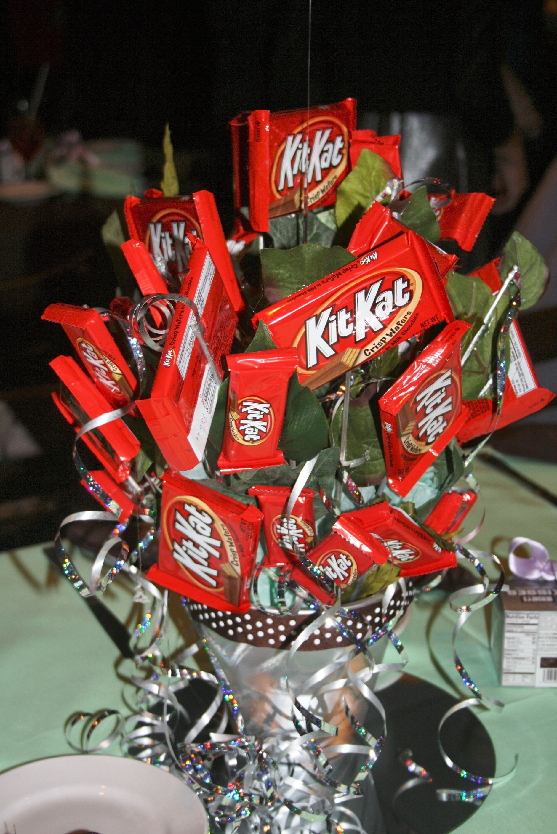 Chocolate Candy Centerpiece For Sweet 16 Party