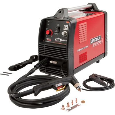 Lincoln Electric Tomahawk 375 Air Plasma Cutter with Built-In Air Compressor — Inverter, 230V, 13-25 Amp Output, Model# K2806-1