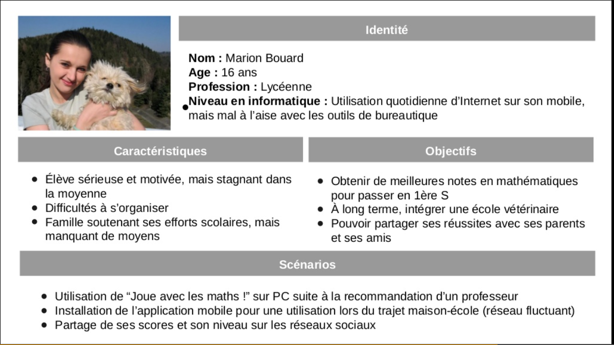 User Personas for Mobile Design and Development   Persona ...