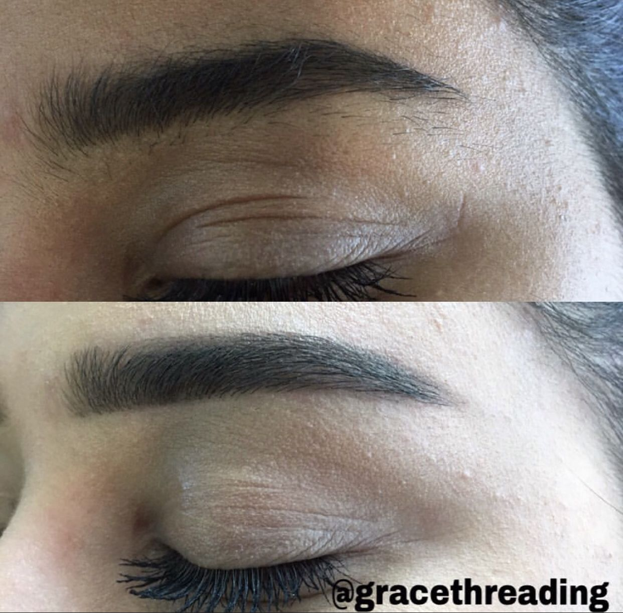 These Brows Are Straight To More Natural Brows They Consist Of No