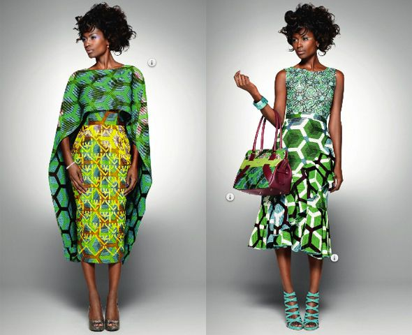 'DELICATE SHADES': ILLUSTRATING COLORS – Vlisco's Fourth Fabric Collection of 2011 | African Vibes Magazine - via http://bit.ly/epinner