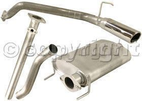 Pacesetter 1989 1995 Toyota Pickup Cat Back Exhaust System Made Of Aluminized Steel Car Parts Exhausted Toyota