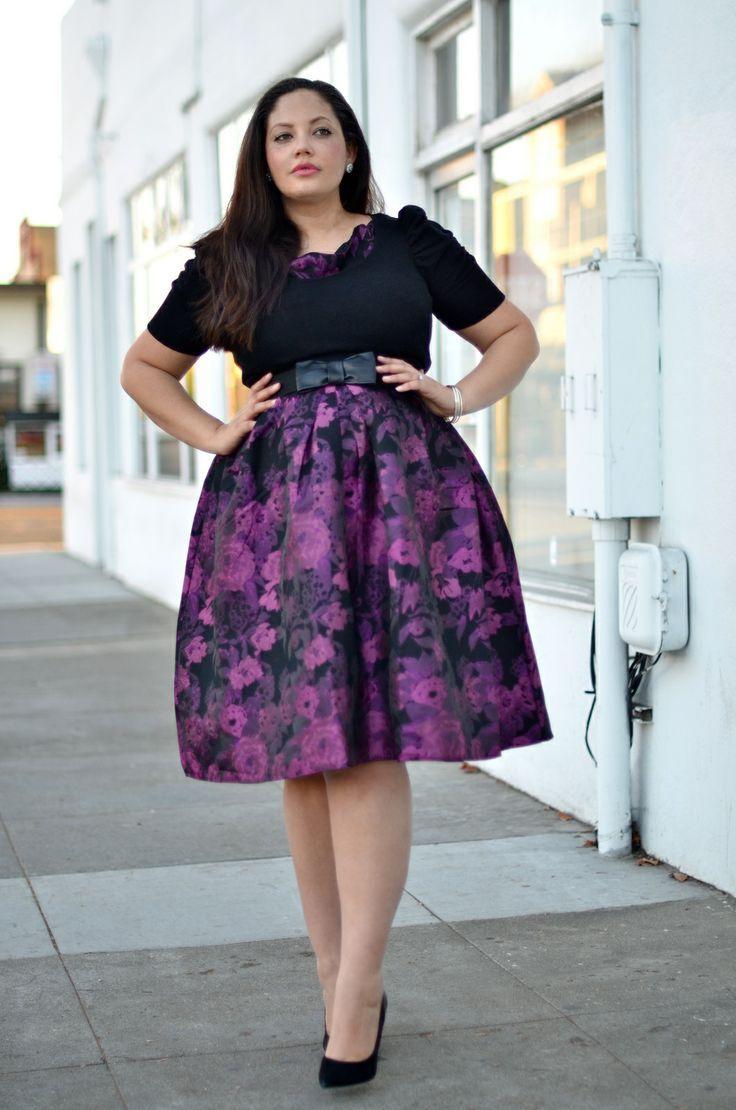 Traje muy lindo y Elegante para ir a la iglesia.. | Moda De Faldas ...