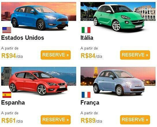 PREÇOS BAIXOS. DESTINOS INTERNACIONAIS EM PROMOÇÃO! Acesse: http://ow.ly/QXG13026Mz4  #rentcars #megaroteios #carros