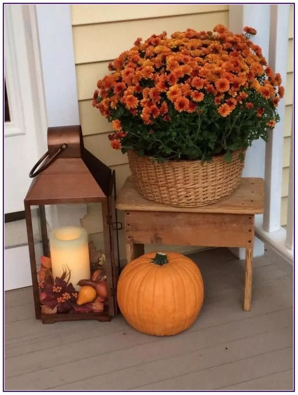 20+ Easy And Simple Fall Porch Decoration Ideas You Must Try