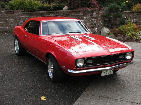 1968 Camaro Okay I Admit I Have A Thing For Muscle Cars