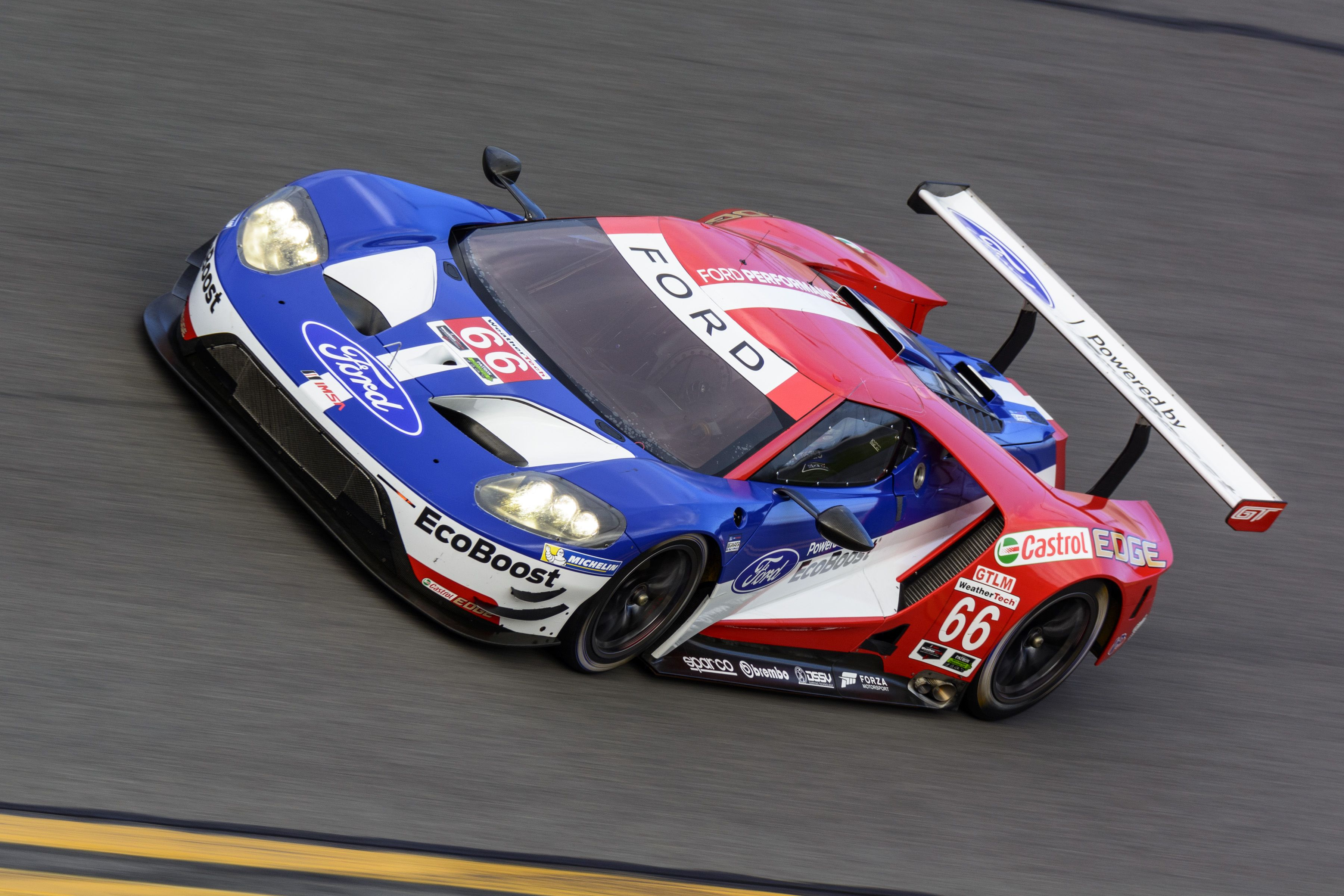 Ford Chip Ganassi Racing Announces Driver Line Ups For Imsa Ford Gt Program Motrface Ford Gt Ford Gt Le Mans Ford