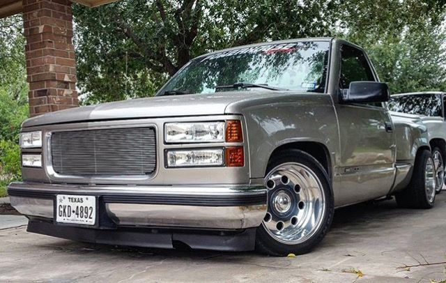 Gmc Sierra 1500 Stepside Modified Slammed Stance
