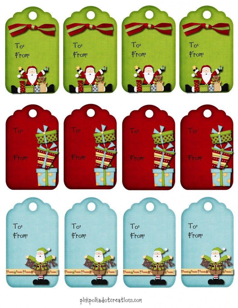 Christmas Gift Tags Pinterest.Printables Christmas Gift Tags Craft Ideas Pinterest