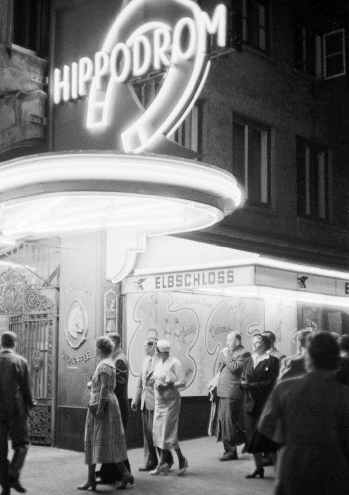 Hippodrom Grosse Freiheit Walter Luden 1955 Hamburg Grosse Freiheit Fotokunst