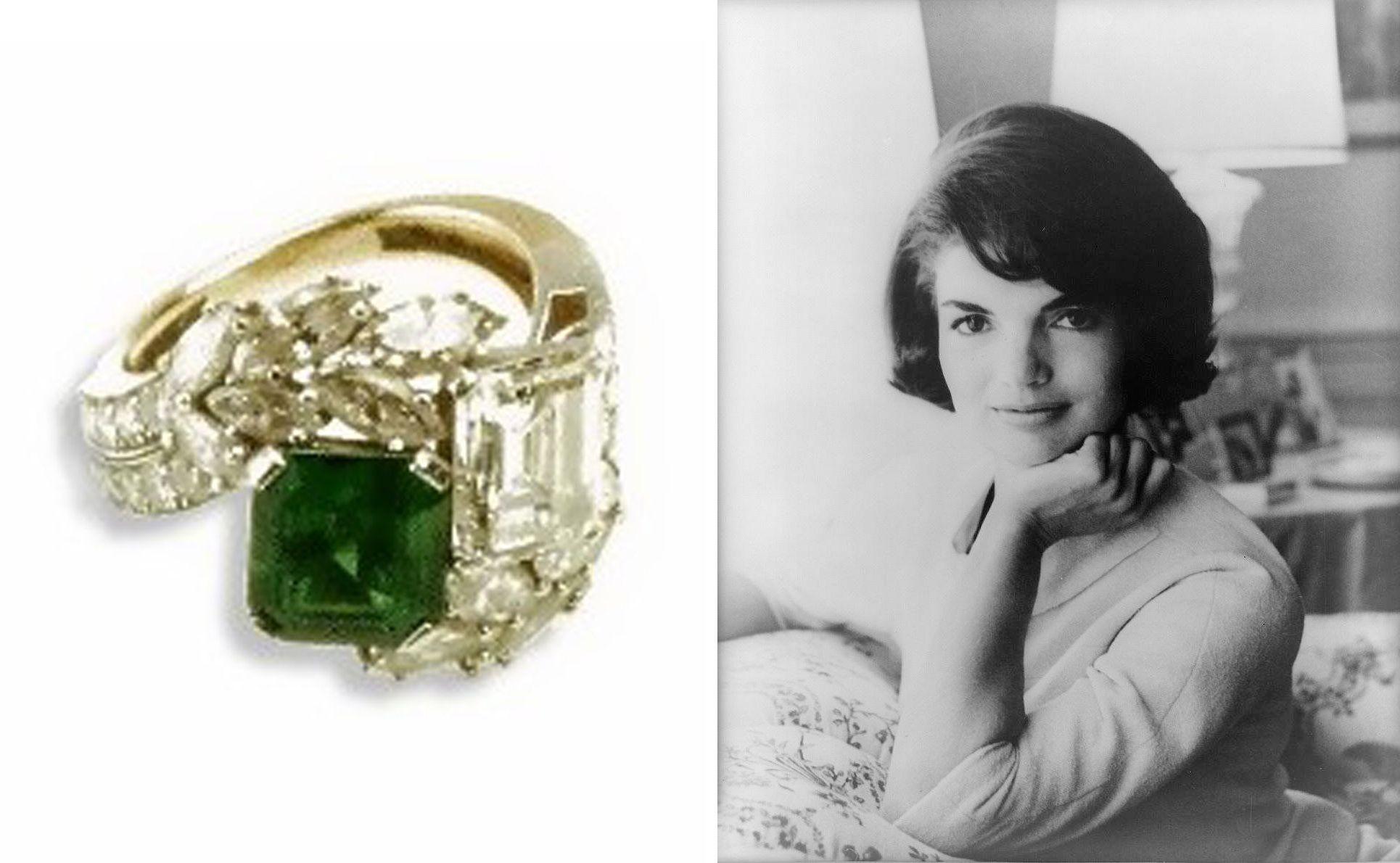 Audrey Hepburn Engagement Ring 1953
