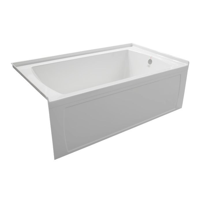 Oro 66x32 Skirted Tub With Right-hand Drain | Products