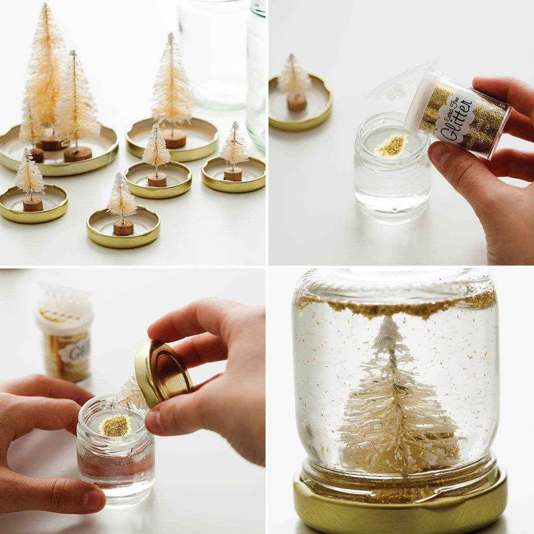 Make Your Own Snow Globe in Less Than 30 Minutes! Diy