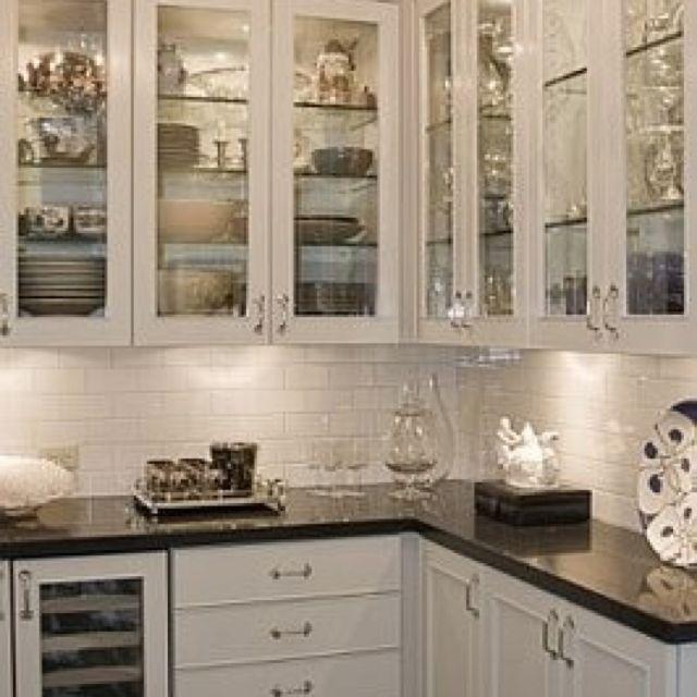 Window cabinets   Dream Home   Pinterest
