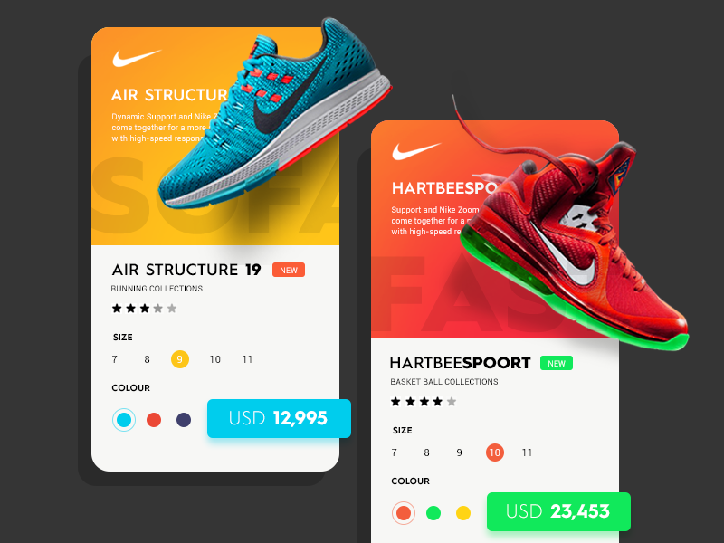 Shoes Online on | Mobile Apps | 운동화, 광고 디자인 및 모바일