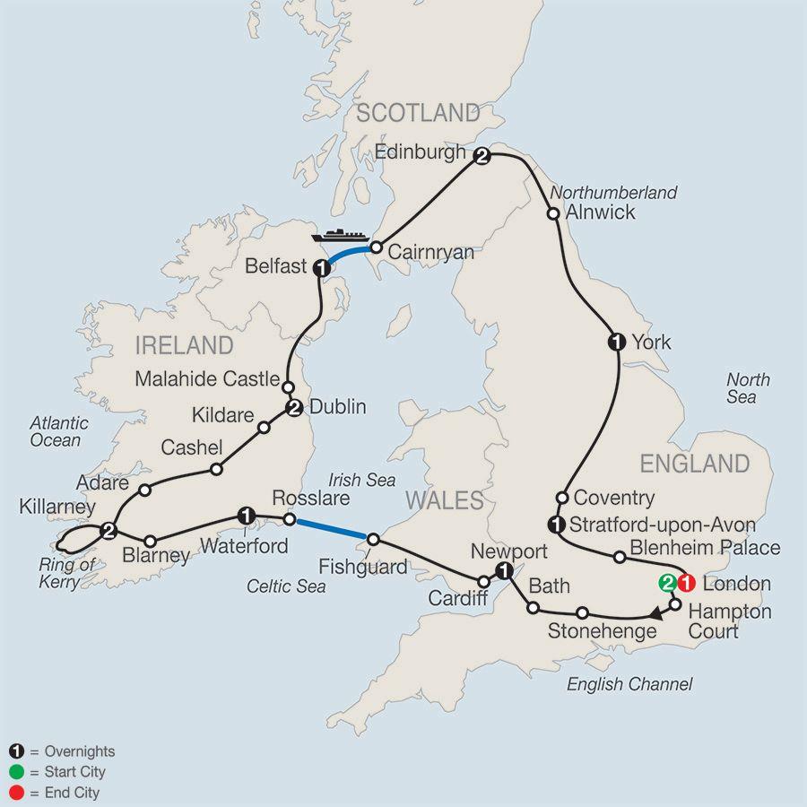 tour of britain and ireland globus escorted tours