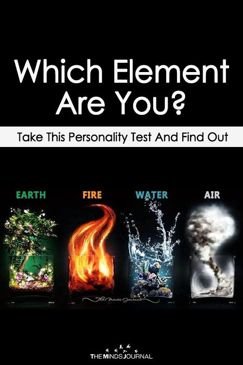 test to see what element you are