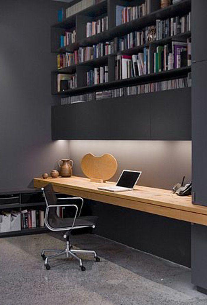 Le Meuble Informatique 80 Idees Magnifiques En Photos Archzine Fr Office Life Meuble Informatique Bureau Informatique Ikea Et Bureau Placard