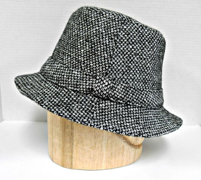 163a1513 Irish Walking Hat handmade with vintage Donegal Tweed! | Hats With a ...