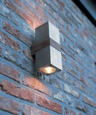 Outdoor lighting q bic up down exterior wall sconce by lightology collection