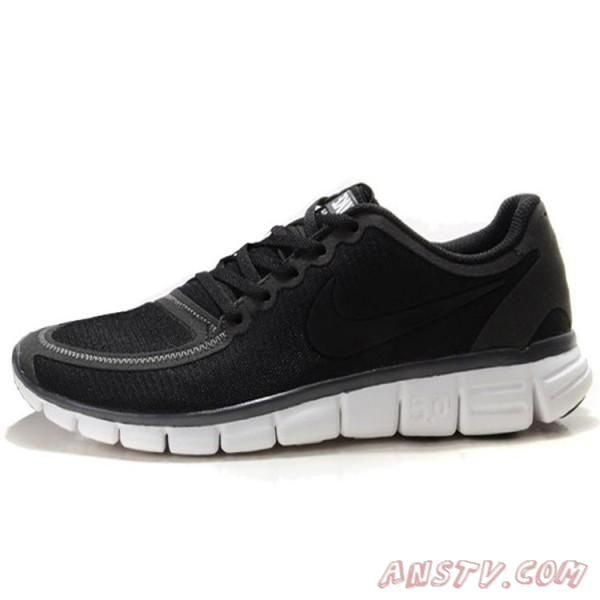 sports shoes 40651 fe8b5 Chaussures de course Nike Free 5.0 V4 Noir  Blanc pas cher Nike Free Homme