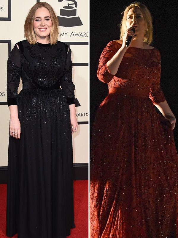 Adele style black dress