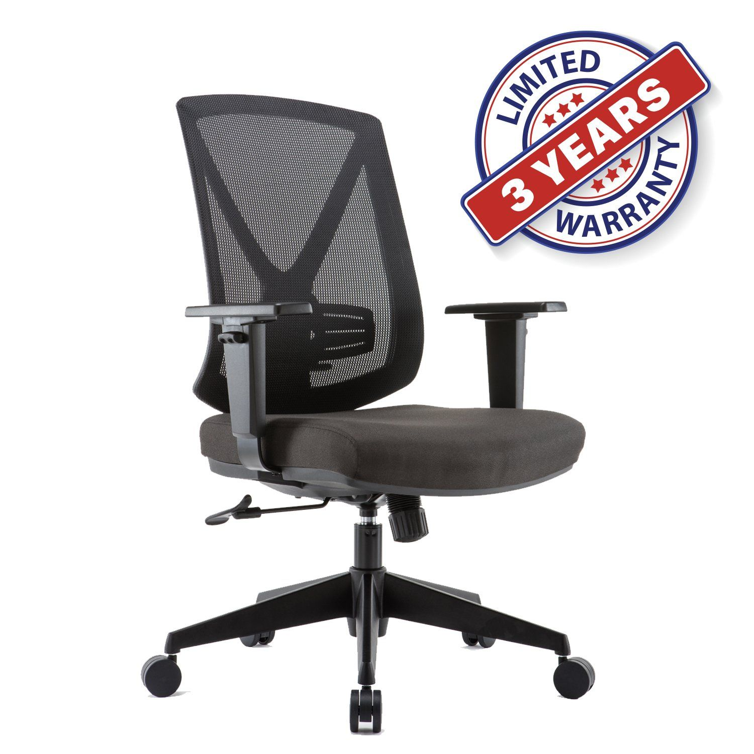 Ergonomic High Mesh Swivel Desk Chair with Adjustable