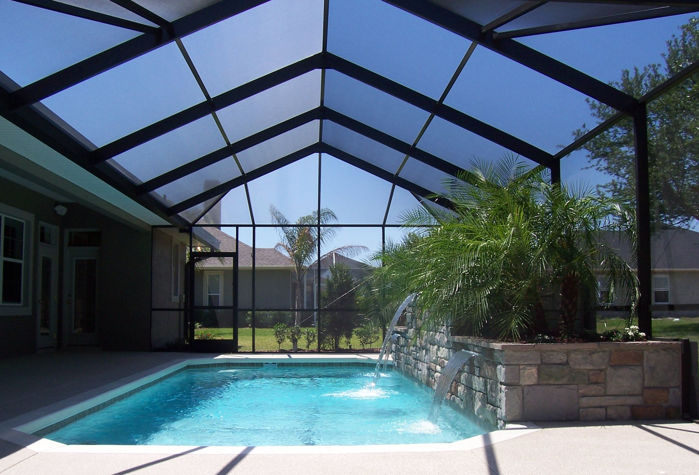 We believe that attention to detail is of the utmost importance and can ultimately separate a good pool enclosure from a great one! Description from robinsonsaluminum.com. I searched for this on bing.com/images