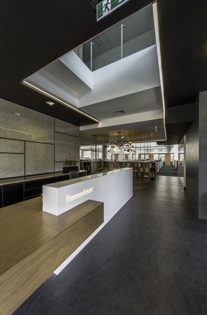 Office tour thomsonadsett s collaborative brisbane for Interior design agency brisbane