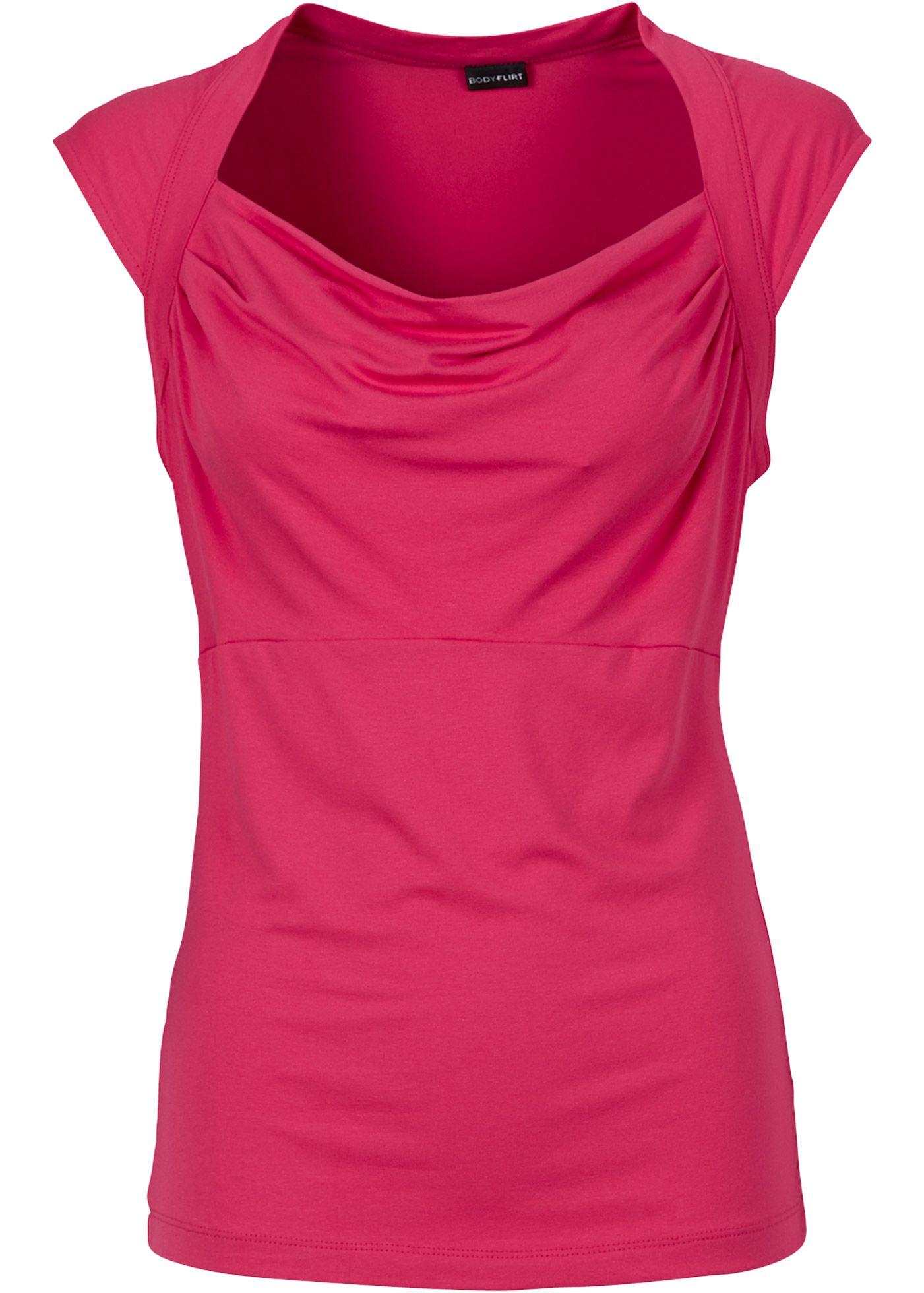 75ce4008d2 Blusa pink escuro encomendar agora na loja on-line bonprix.de R  42 ...
