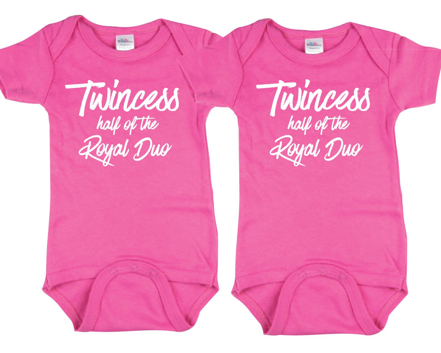 Unisex Infant Twins Baby Casual Bodysuit Clothes Cute Matching Outfits Gift Kids