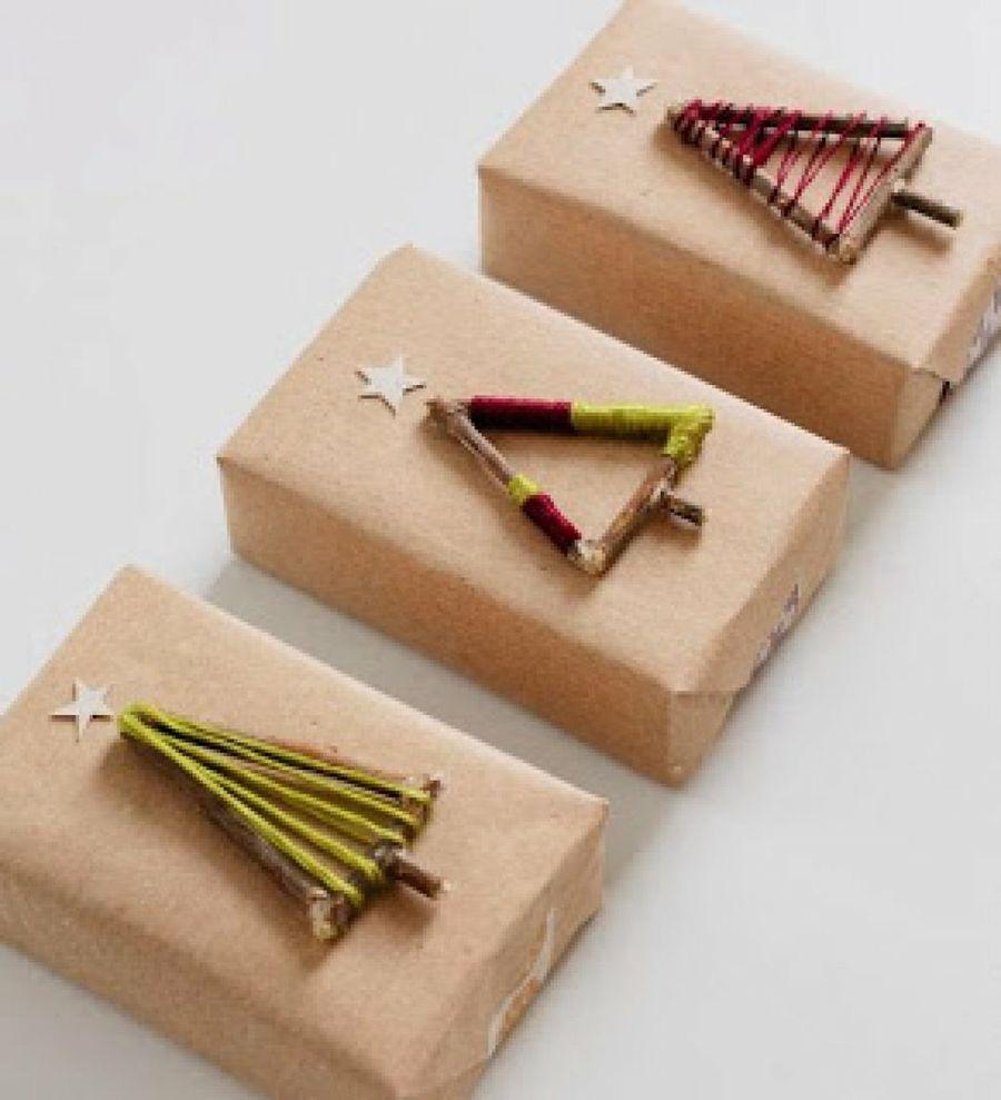 Resultado De Imagen Para Envoltura De Regalos Originales Navidad  ~ Regalos Originales Amigo Invisible Hechos A Mano