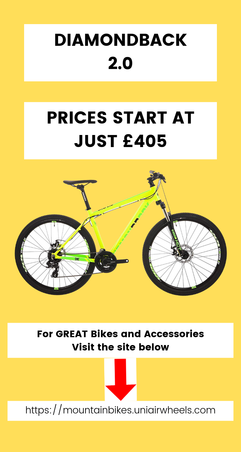 The Diamondback 2 0 Mountain Bike Starting At Just 405 With Free