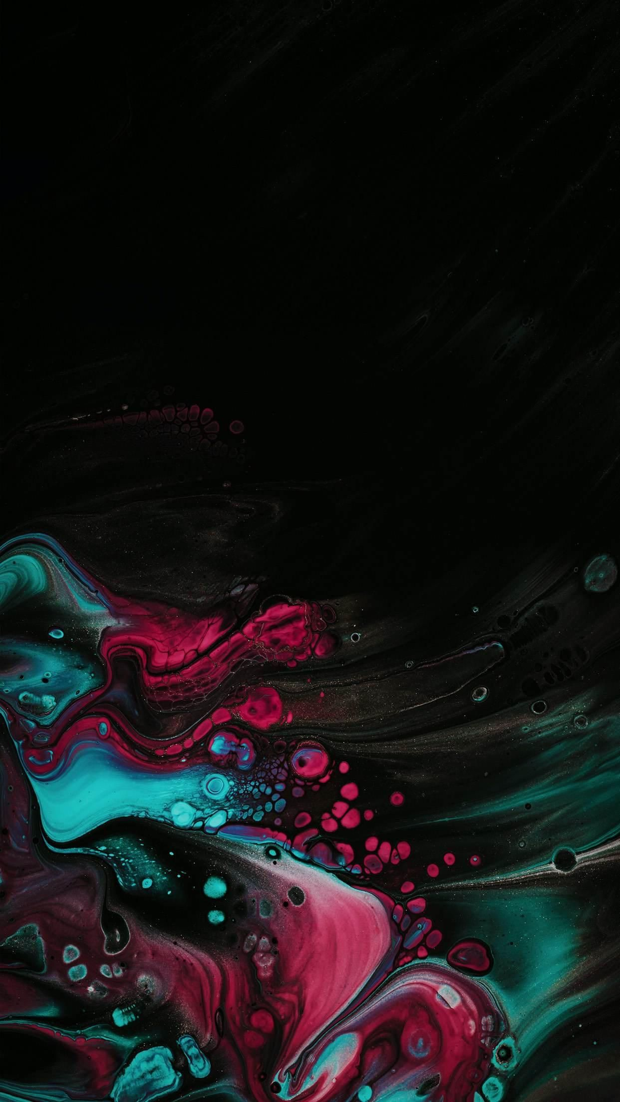 Bubbly OLED in 2020 Dark wallpaper, Colorful wallpaper
