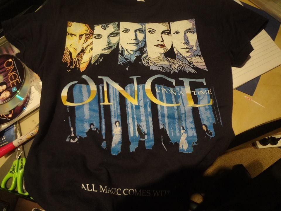 Once Upon a Time T-Shirt! I want one!