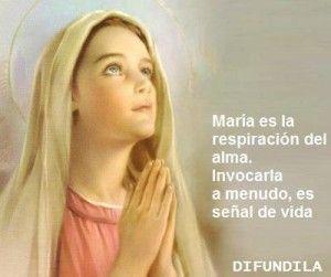 Imagenes De La Virgen Maria Con Frases 8 Fe Blessed Virgin