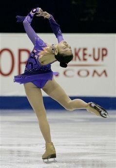 安藤美姫 ショートプログラム:4大陸選手権