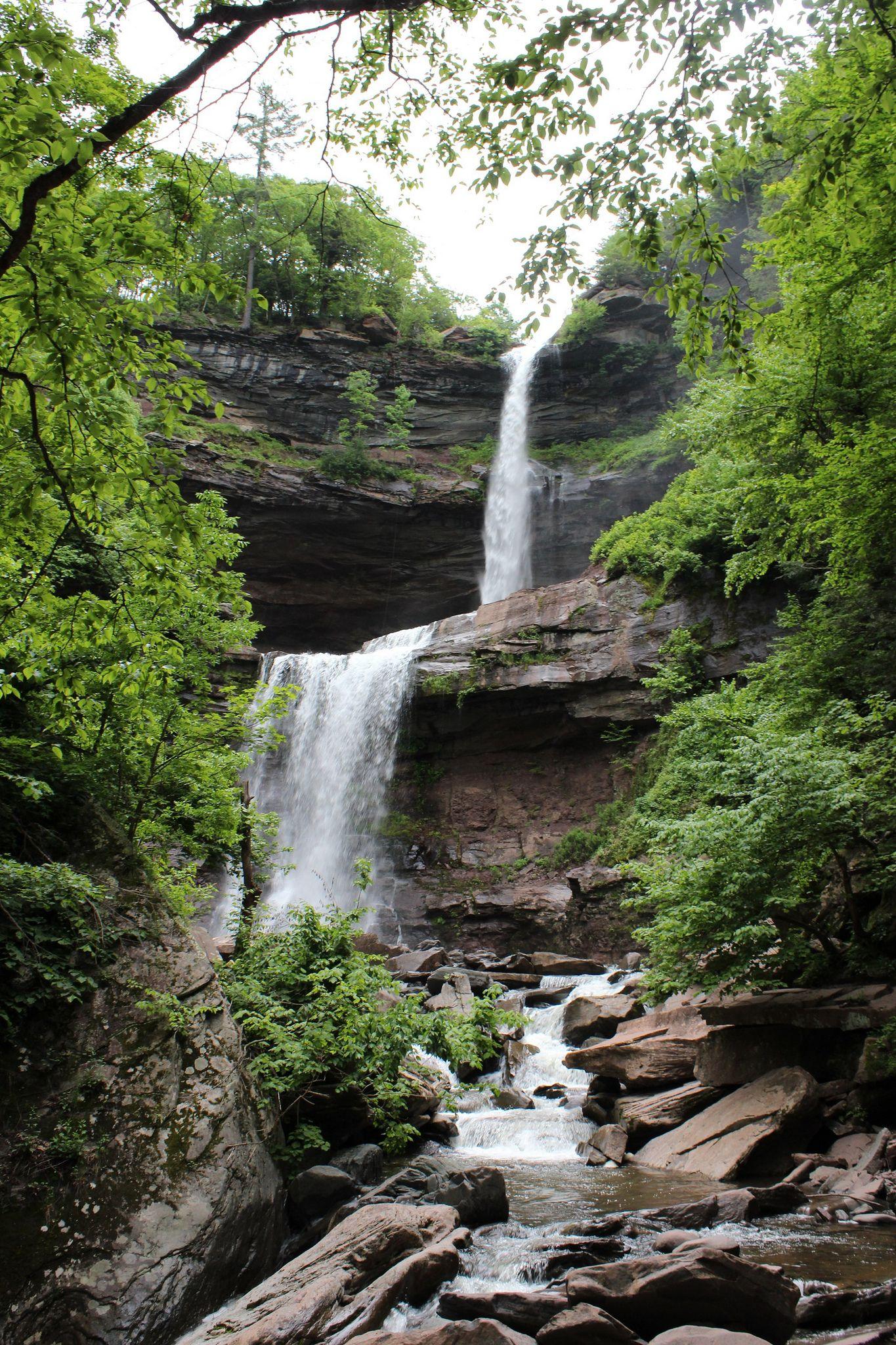 Kaaterskill Falls (Catskill Mountains, NY) in 2020