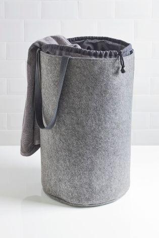 Buy Grey Felt Storage Bag From The Next Uk Online Shop