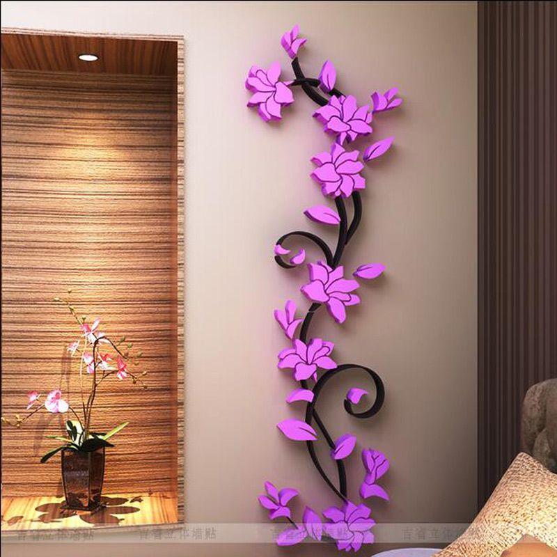 Flowercreative Borboletas 3d Adesivos De Parede Removível Pvc