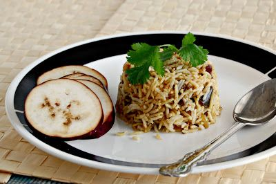 Eggplant Rice / Brinjal Rice