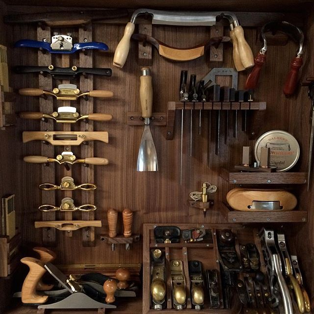 Chair Makers Hand Tool Cabinet Ljgraubner Wood Shop In