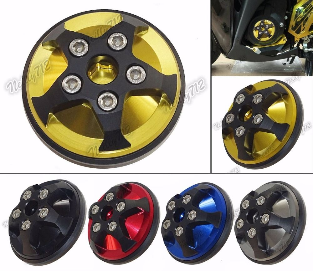 Motorcycle Parts Left Side Engine Plug Clutch Cover For 2013