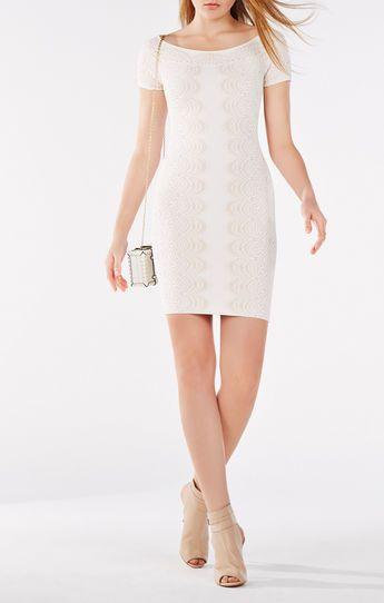 ec0cced2330 Kisha Off-The-Shoulder Knit Dress