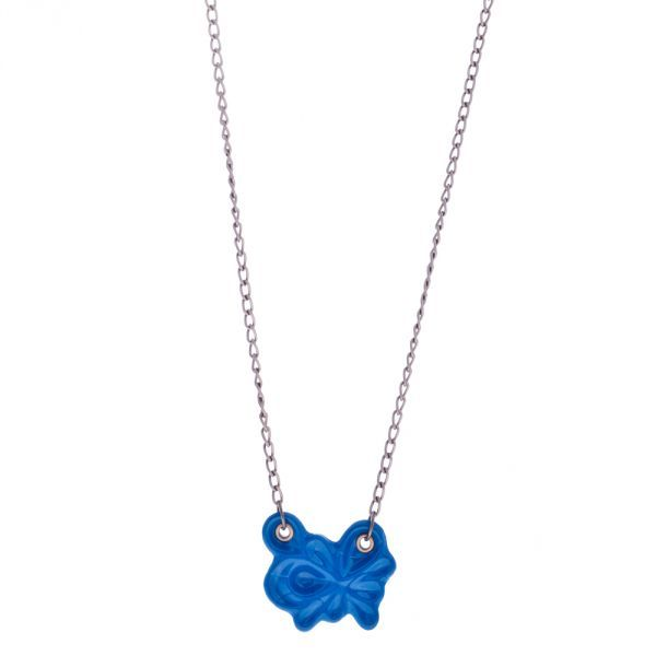 Medusa Double Necklace - Blue