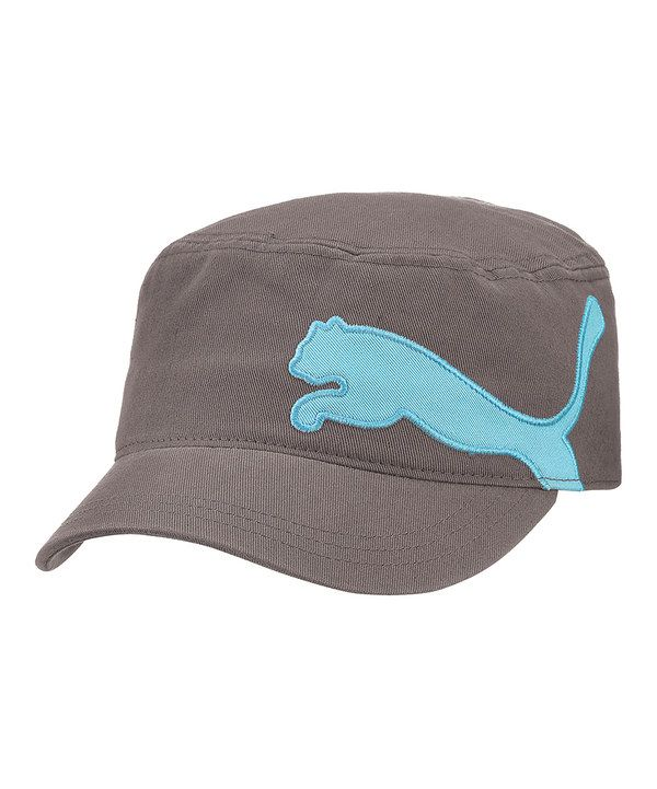 Take a look at this Gray & Blue Leap Cadet Cap on zulily today!